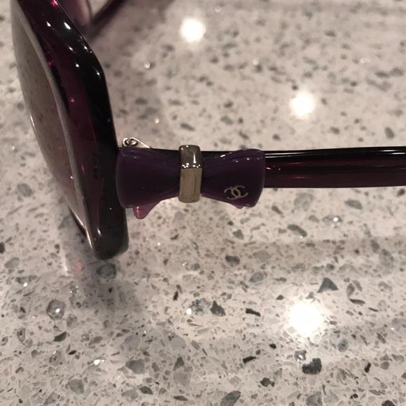 """438e69db19c CHANEL Accessories - Chanel """"Purple"""" Sunglasses"""